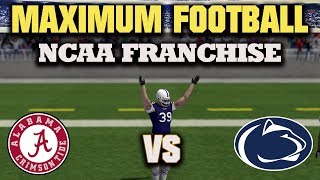 Download Maximum Football 2018 Gameplay On Ps4 - Welcome To The NCAA !!! Video
