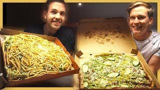 Download Familjepizza med mer än 30 pålägg! Video