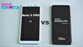 Download Samsung Galaxy S9 Plus vs Redmi Note 5 Pro SpeedTest and Camera Compare Video