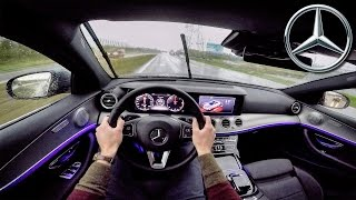 Download Mercedes Benz E Class 2017 POV Test Drive + AMBIENT LIGHTING Video