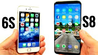 Download iPhone 6S vs Galaxy S8 Plus! - Speed Test Video