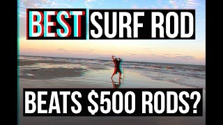 Download NEW BEST Surf Fishing Rod? SURPRISING PRICE | Surf Fishing Jetty Fishing Surf Fishing Rigs Video