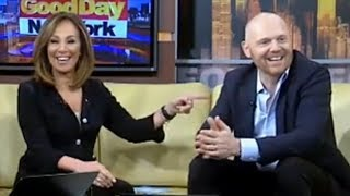 Download Bill Burr Makes the Hosts on GoodDay NY Uncomfortable Video
