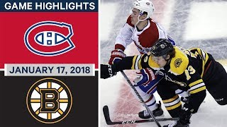 Download NHL game in 5 minutes: Canadiens vs Bruins Video
