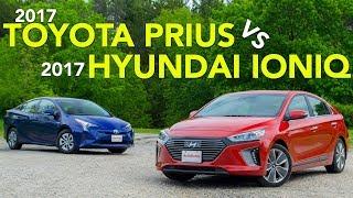 Download 2017 Toyota Prius vs Hyundai Ioniq Hybrid Comparison Video