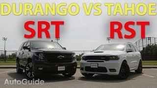 Download 2018 Dodge Durango SRT vs Chevrolet Tahoe RST Video