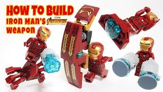 Download How to Build Lego Iron Man Weapons from Avengers Infinity War (Iron Man Big Shield) Video