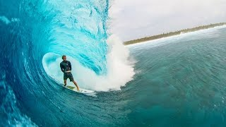Download Ian Walsh Surfs Perfect Barrels with World Champ, John John Florence | Distance Between Dreams Video