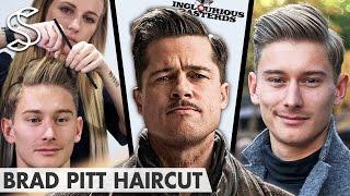 Download Brad Pitt Hairstyle ★ Inglourious Basterds Lt. Aldo Raine ★ Men's Hair Video