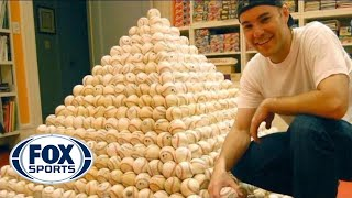 Download Foul Balls, Home Run Balls...this MLB fan has more than 6,000! See how he gets them. Video