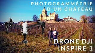 Download Photogrammétrie d'un château - Prise de vue et reconstruction 3d - Drone DJI inspire 1 Video