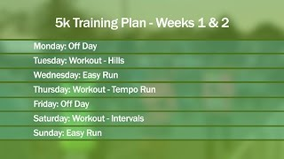Download 5k Training Plan for Beginners - Part 1 Video