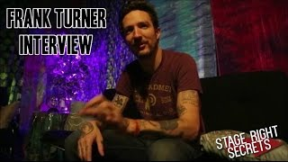 Download Frank Turner Interview! Talk Spotify, Fan Questions, and More! Video