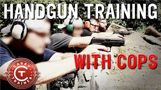 Download Handgun Training with Cops | Drills and Tips on the Range for Pistol Shooting (1080p) Video