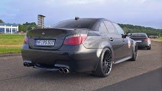Download BMW M5 5.8L F1 DINAN STROKER 630HP BLACK BEAST! Video