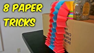 Download 8 Paper Tricks Compilation Video