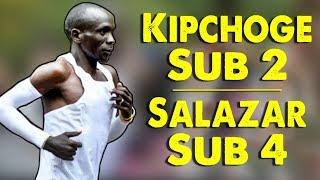 Download Eliud Kipchoge Runs Sub 2 Hour Marathon - Performance Enhancement? Video