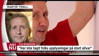 Download Martin Timell talar ut om anklagelserna - Nyheterna (TV4) Video