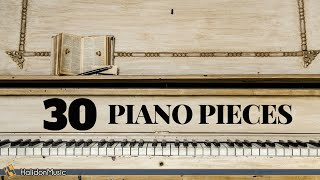 Download 30 Most Famous Classical Piano Pieces Video