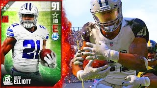 Download EZEKIEL ELLIOT GOT PUT ON A STRETCHER! WORST DEBUT EVER! - Madden 17 Ultimate Team Video