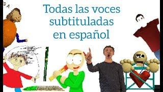 Download Todas las voces subtituladas en español | Baldi's Basics in Education and Learning Video