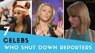 Download 7 Times Celebs SHUT DOWN Rude Reporters! Video