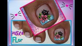 Decoracion De Unas Flores Como Pintar Flores Facil Flowers Nail
