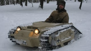 Download Goliath Tank Snow Romp Video