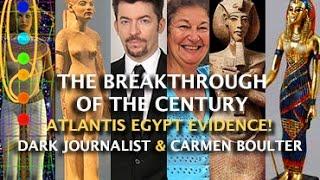 Download BOMBSHELL ATLANTIS EGYPT DISCOVERY! NEW EXPLOSIVE EVIDENCE! DARK JOURNALIST & DR. CARMEN BOULTER Video