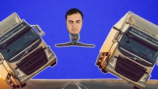 Download Tırlar Üzerinde Zıplayan Çekirge Video