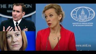 Download Zakharova tells State Department, BBC where to go ... Video