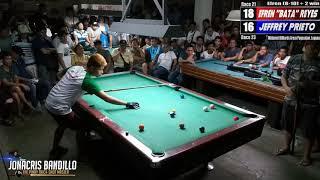 Download (5) Jeffrey ″Wax″ Prieto Vs Efren ″Bata″ Reyes (Pagsanjan Laguna) Video