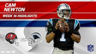 Download Cam Newton Highlights | Buccaneers vs. Panthers | NFL Wk 16 Player Highlights Video