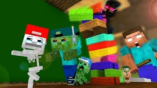 Download Mob Kids Life 6 - Craftronix Minecraft Animation Video