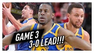 Download Stephen Curry, Klay Thompson & Andre Iguodala Game 3 Highlights vs Blazers 2017 Playoffs - EPIC! Video