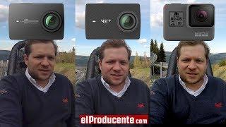 Download YI 4K+ vs GoPro Hero5 black vs YI 4K - EIS and Audio Test Video