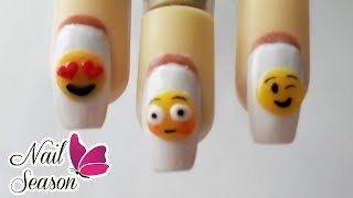 Download Uñas decoradas emojis de acrilico - Emoticons Nail Art 2017 Video