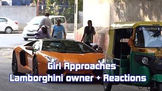 Download Girl Approaches Lamborghini Owner + Mindblowing Reactions | SupercarsInBangalore #77 Video