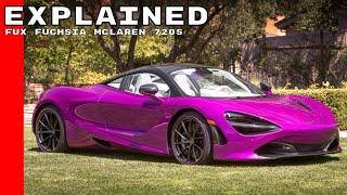 Download Fux Fuchsia Paint McLaren 720S MSO Explained Video