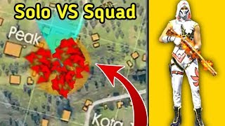 Download Insane Solo vs Squad Ranked Gameplay🔥😲//Free fire Tips & Tricks Video