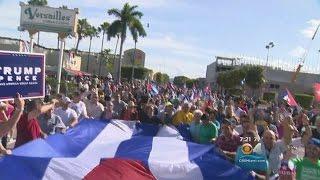 Download Cubans In Miami Celebrate, Look To Brighter Future Video