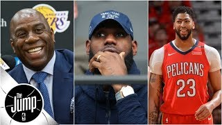 Download Does Anthony Davis agent news mean he'll join LeBron on Lakers? | The Jump | ESPN Video