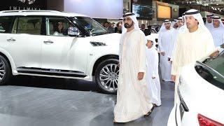 Download محمد بن راشد يزور معرض دبي الدولي للسيارات Video