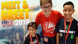 Download My favorite memory of 2018... my FIRST EVER Meet & Greet USA!! Video