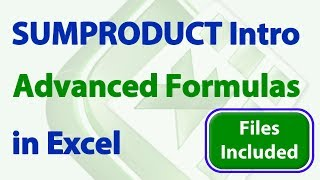 Download SUMPRODUCT in Excel - Introduction to Intermediate Video