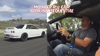 Download Quick Drive Monster R32 GT-R First drive of PPG Sequential Transmission Video
