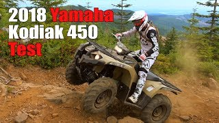 Download 2018 Yamaha Kodiak 450 Test Review Video