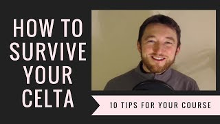 Download How to Survive the CELTA: 10 Tips to Get You Through the Course! Video
