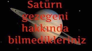 Download Satürn gezegeni hakkında bilmedikleriniz Video