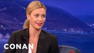 Download Charlize Theron On Her Creepy Charity Blind Date - CONAN on TBS Video